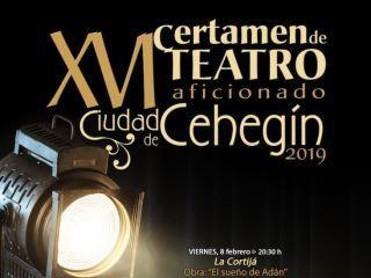 XVI Certamen de Teatro aficionado Ciudad de Cehegín