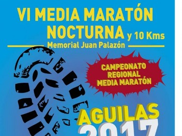 29th April Á�guilas nocturnal half marathon