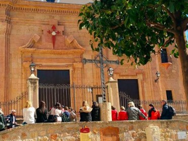 30th April Free guided tour of the historical centre of Lorca
