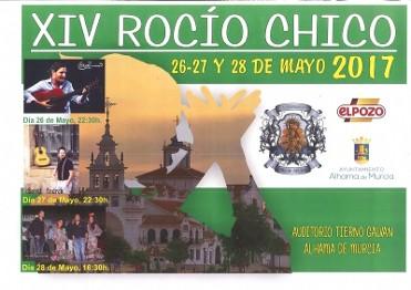 26th to 28th May Rocio Chico in Alhama de Murcia