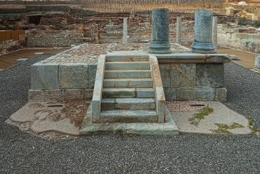 Templo de Isis. Barrio del foro romano