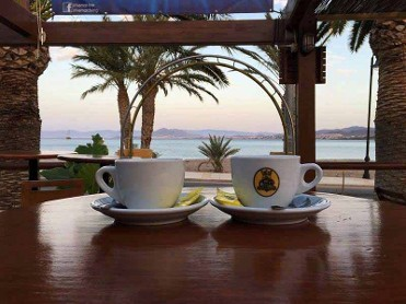 you can start your day in our Rivemar terrace
