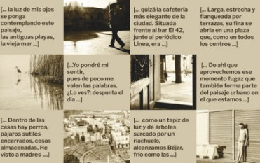 Until 15th January, poetry and photography exhibition at the Roman Theatre Museum in Cartagena