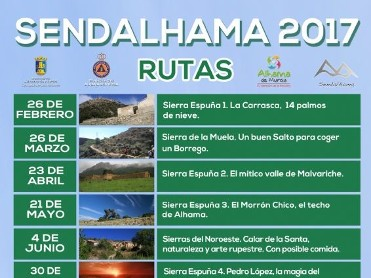 4th June fifth free guided route in Sendalhama programme: Sierra EspuÁ±a