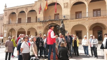 4th March free guided theatrical tour of Lorca