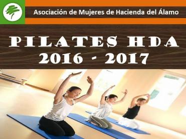 Tuesdays and Thursday, Pilates on Hacienda del Alamo