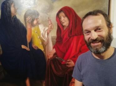 Until 4th November, exhibition of paintings by Manuel Páez in San Javier