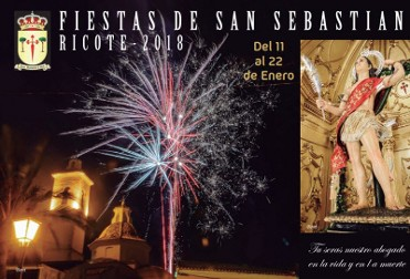 11th to 22nd January 2018 Fiestas of San Sebastian in Ricote