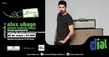 26th May Alex Ubago in Torre Pacheco courtesy of Escenario Dial