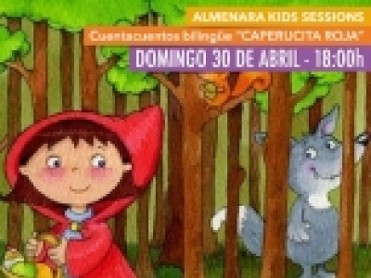 30th April free children's bilingual storytelling Parque Almenara Lorca