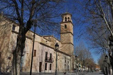The Iglesia de la Purísima Concepción in Caravaca de la Cruz