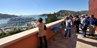 Panorámica desde el Castillo de la Concepción