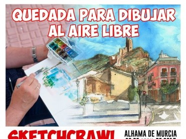 30th April Alhama de Murcia Sketchcrawl