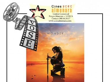 29th June ENGLISH language cinema at the Parque Almenara in Lorca: Wonder Woman
