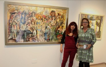 Until 24th March, exhibition of paintings by Pepi Cava in San Pedro del Pinatar