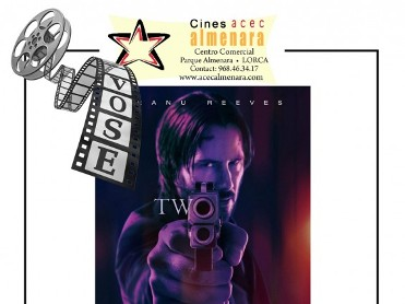 27th April ENGLISH language cinema at Parque Almenara Lorca - John Wick: Chapter 2