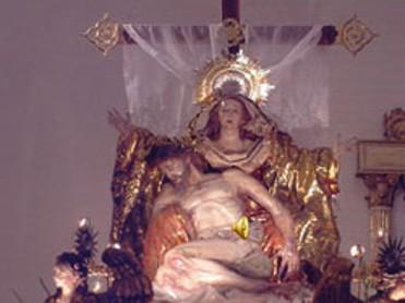 Procesión Cristo de los Mineros