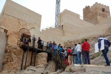 4th March ENGLISH LANGUAGE guided tour of Alhama de Murcia Castle