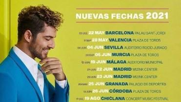 Concierto David Bisbal En tus planes en Murcia. NUEVAS FECHAS