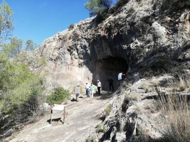 6th December Free guided visit to the prehistoric site of Abrigo el Milano in Mula