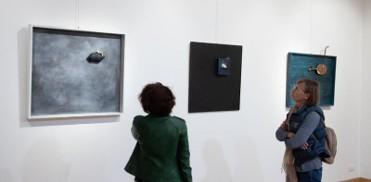 Until 6th May, art exhibition by Eva Poyato in Mazarrón