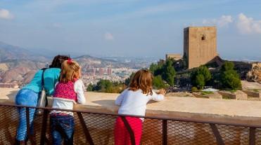Visiting Lorca castle during April 2018