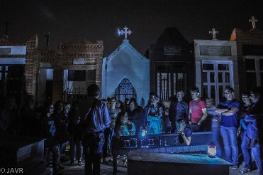 Visita nocturna teatralizada Paseos por el Cementerio de Molina de Segura