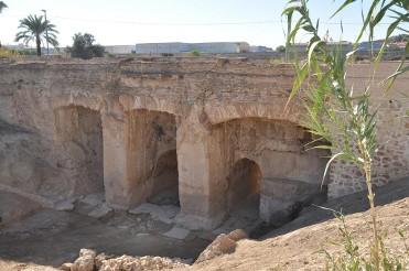 Acueducto de los Arcos sobre la Rambla de las Zorreras - Puente de los Arcos