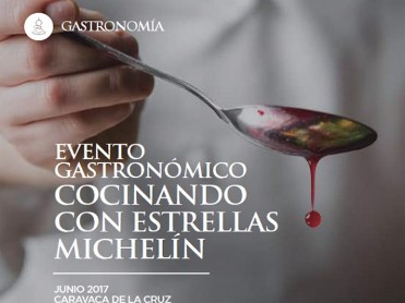 June 2017, Michelin star chefs at cooking event in Caravaca de la Cruz