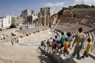 18th February Cartagena: ENGLISH Roman Theatre and Roman Forum district tour with tapas