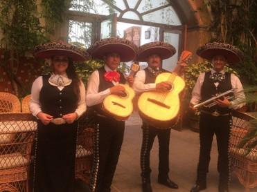 Mexican Mariachi band every Wednesday at the Hotel La Encarnación in Los Alcízares
