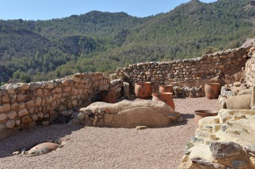 29th and 30th April guided tours of the Argaric La Bastida archaeological site in Totana
