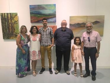 New collective art exhibition in Águilas auditorium