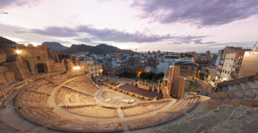 Every Wednesday: Evening theatrical visits to the Roman Theatre Museum in Cartagena