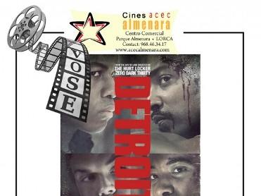 21st September: English language cinema at the Parque Almenara in Lorca: Detroit