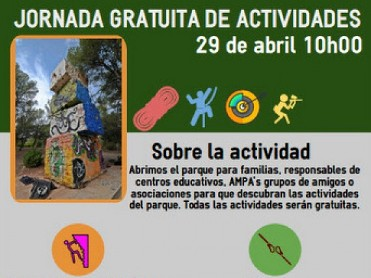 29th April open day at Coto de las Maravillas activity park in Cehegín