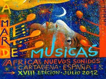 Cartel La Mar de Músicas 2012