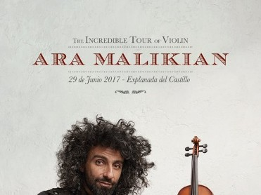 29th June Ara Malikian in Caravaca de la Cruz