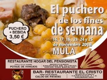 Sample Mula stews on 16th,17th,18th,23rd,24th and 25th November