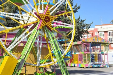 Children's funfair and places to visit in Á�guilas every weekend