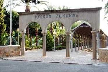 ENTRADA PARQUE ALMANSA