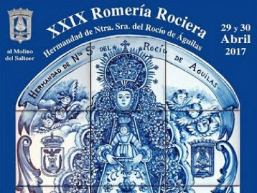 29th and 30th April, Á�guilas XXIX Romería Rociera al Molino del Saltaor
