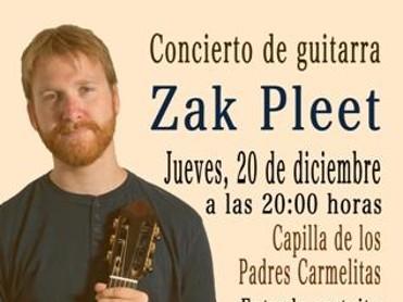 Concierto de Guitarra Zak Pleet