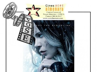 19th January ENGLISH language cinema at the Parque Almenara; Underworld Blood Wars