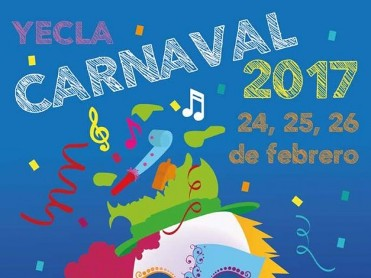 24th to 26th February Carnival in Yecla