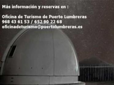 OBSERVACIONES ASTRONÓMICAS TODO EL AÑO EN EL OBSERVATORIO ASTRONÓMICO CABEZO DE LA JARA