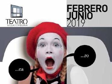 Programación Teatro Villa de Molina de febrero a junio de 2019