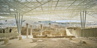 Panorámica barrio del foro romano