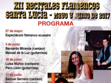 3rd June open air flamenco recital in Cartagena with Bernardo Miranda