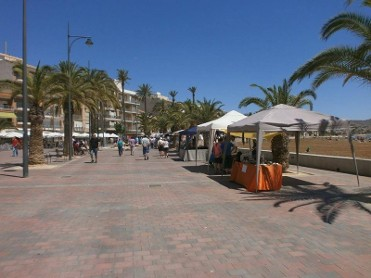 19th August artisan market Puerto de Mazarron